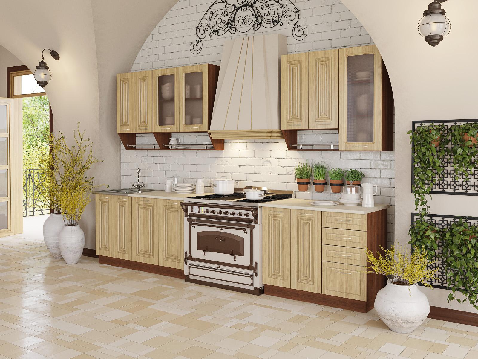 Купить кухню Дарина Прованс лиственница (Артём-Мебель) в Минске